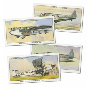 Civil Aeroplanes Reproduction Set of 50 cards