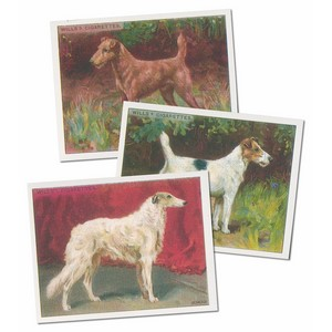 Dogs 1914 Reproduction Set of 25 cards
