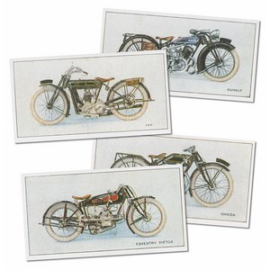 Motorcycles 1927 Reproduction Set of 50 cards