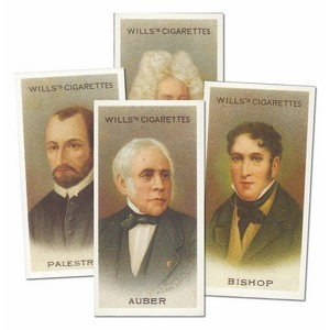 Musical Celebrities 2nd Series Reproduction Set of 58 cards