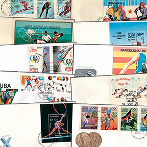25 Olympic Cover Collection