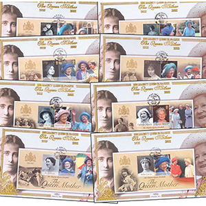 17 HM The Queen Mother Cover Collection
