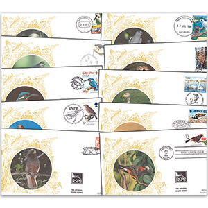 Birds - RSPB Silk Cover Collection (52 covers)
