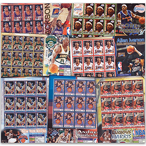 2006 NBA Stamp Collection
