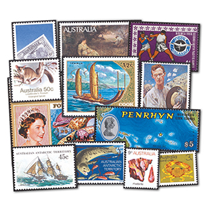 Australia & Australian Territories Mint Stamp Collection