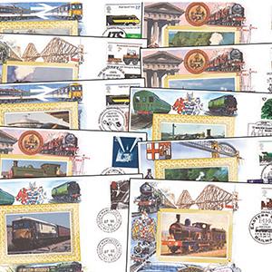 76 Benham Railway Covers (1995 - 1997)