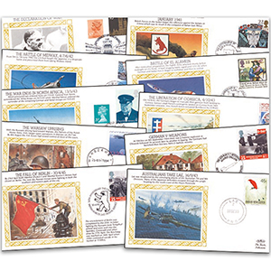 50th Anniversary of World War II Cover Collection
