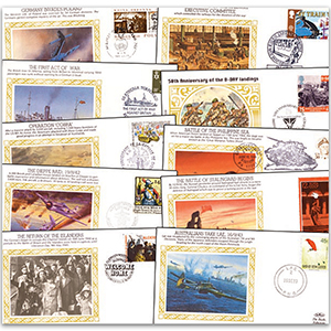 50th Anniversary of WWII 'Silk' Collection