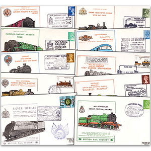 43 British Rail History Covers