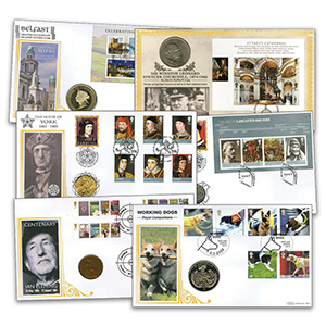 20 Benham Coin Cover Collection