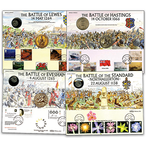 5 Heritage of Britain Coin Covers