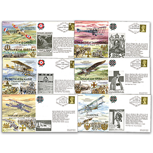 54 Great War 80th Anniversary Covers (unsigned)