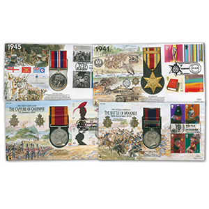 Benham Replica Medal Covers Collection