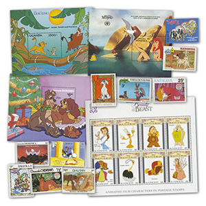 The Colourful World of Disney Stamp Collection