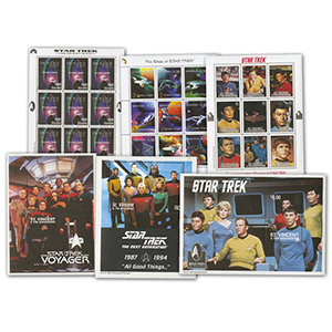 Star Trek Stamp Collection