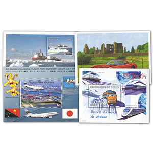 Transports Stamp Collection