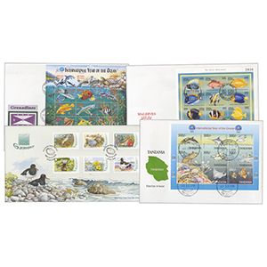 21 Fish & Aquatic Cover Collection