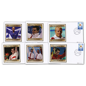 11 x 2006 Melbourne Commonwealth Games Gold Medal Winners Covers