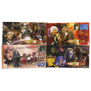 24 Doctor Who Signed Covers