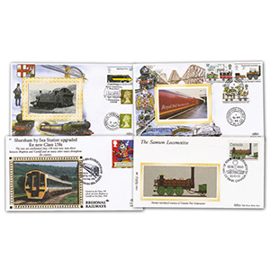 15 Benham Railway Commemorative Covers
