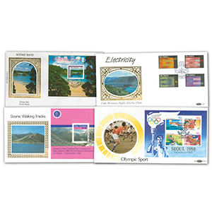 16 Benham New Zealand Covers