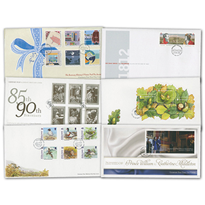 Guernsey & Alderney First Day Cover Collections