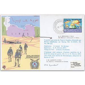 1949 Tunisia RAFES N. Africa - Signed by JH Lambert