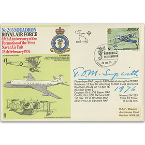 1976 First Naval Unit - Signed Tom Sopwith