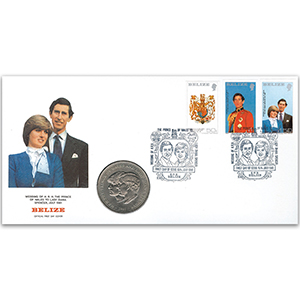 1981 Belize - Royal Wedding Cover