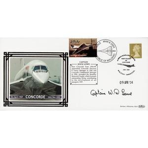 2004 Concorde Pilots - Signed by Jock Lowe