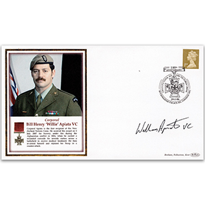 2006 Victoria Cross Recipient - Signed by Cpl. Bill Apiata VC (New Zealand Army)