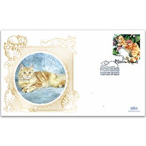2002 Pitcairn Islands Cats/Miti/Ginger