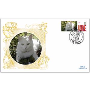 2010 Great Britain - Turkish Angora Cat
