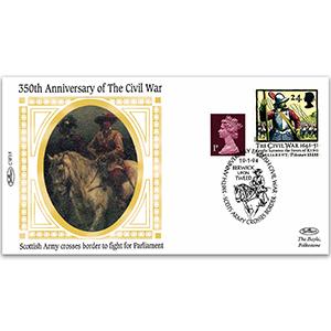 1644 Scottish Army Crosses the Border - 350th Anniversary of the Civil War