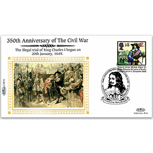 1649 Illegal Trial of King Charles I Begins - 350th Anniversary of the Civil War
