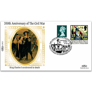 1649 King Charles I Condemned to Death - 350th Anniversary of the Civil War