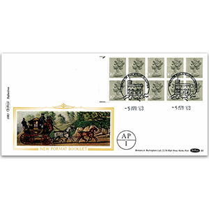 1983 New Format Booklet - Windsor Handstamp