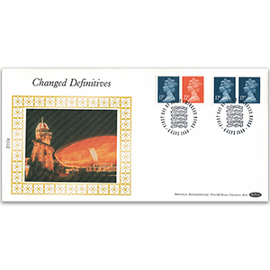 1990 Changed Definitives - Booklets - Windsor FDI Cancel