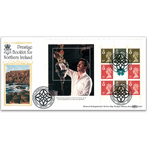 1994 Prestige Booklet for Northern Ireland - The Giant's Causeway Handstamp