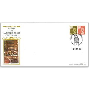1995 Wales Regional Definitives 19p & 25p - Cardiff