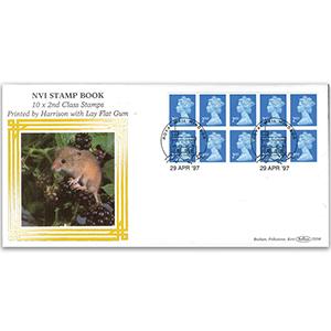 1997 NVI 10 x 2nd Class Stamp Book