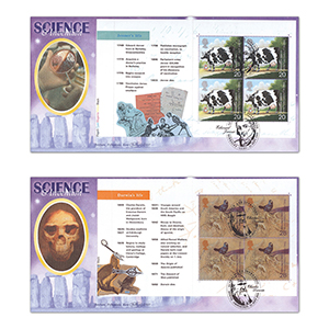 1999 Science & Invention PSB - 20p & 26p Panes - Pair