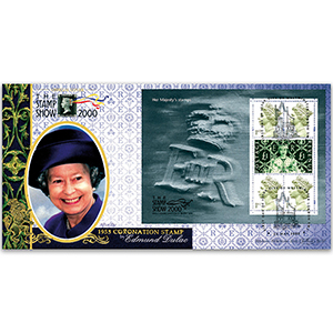 2000 Stamp Show - Her Majesty's Stamp Sheet