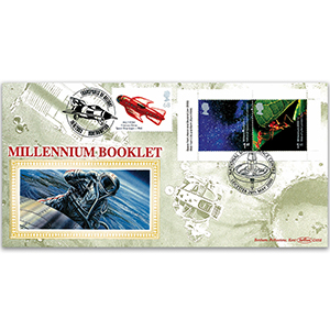 2000 Millennium Booklet National Space Centre - Doubled 2003 Transports of Delight Spaceship.
