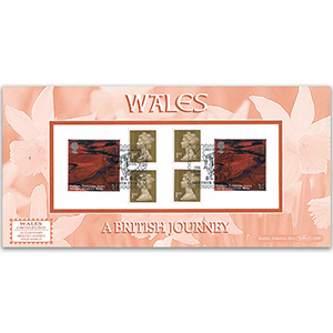 2004 Wales Definitive Retail Booklet - Mrthyr Tydfil Handstamp