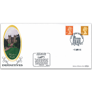 2005 New 9p & 46p Definitives