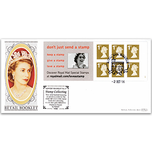 2006 Smilers Advert Booklet No.4 'Love a Stamp' - Windsor Handstamp and Cachet
