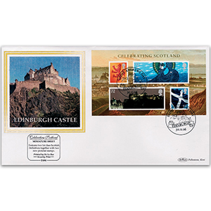 2006 'Celebrating Scotland' Definitive M/S Sheet
