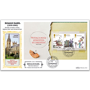 2012 Roald Dahl PSB Definitive Cover - 66p/£1/£1.10 Pane