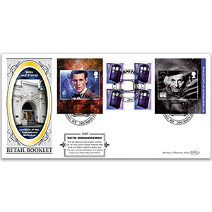 2013 Dr Who Retail Bklt Definitive Cover